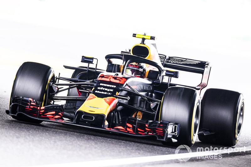 3: Max Verstappen, Red Bull Racing RB14, 1'29.057