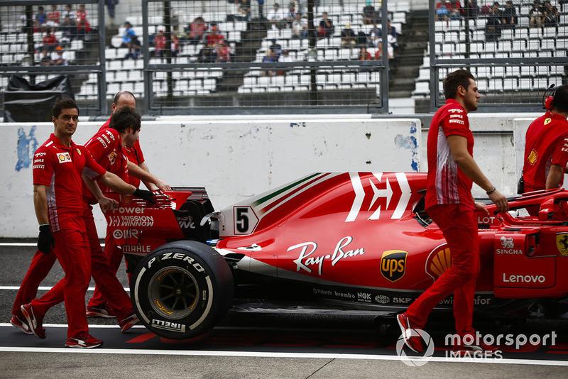 Інженери Ferrari, Себастьян Феттель, Ferrari SF71H