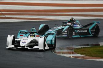 Tom Dillmann, NIO Formula E Team, NIO Sport 004, Nelson Piquet Jr., Panasonic Jaguar Racing, Jaguar I-Type 3