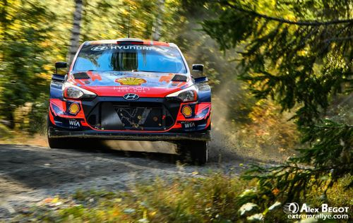 Rally Finland test