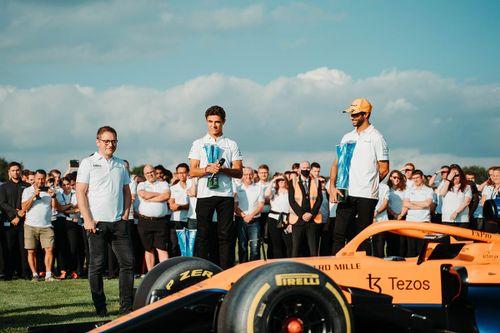 McLaren Woking festiviteiten