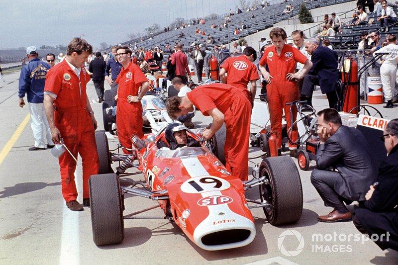 Jim Clark, Lotus 38-Ford