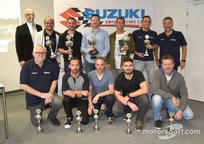 Suzuki Swiss Racing Cup : Preisverleihung