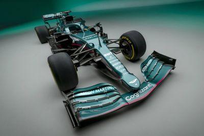 Aston Martin Formula 1 launch