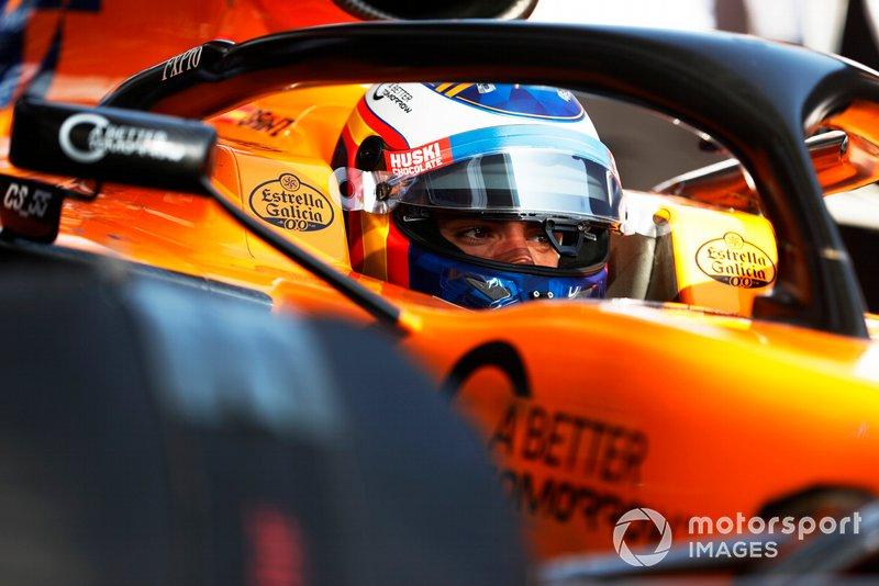 Карлос Сайнс, McLaren MCL34 Honda