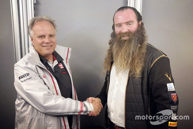 Gene Haas, Haas F1 Team, William Rtorey, Rich Energy CEO