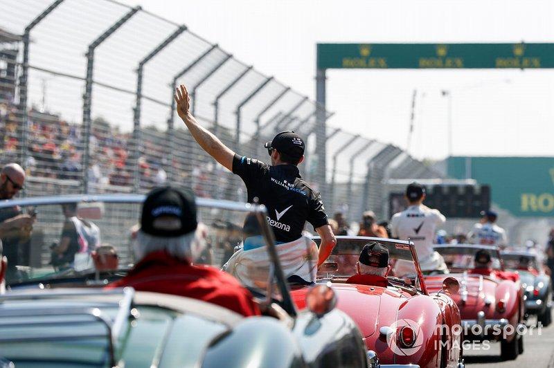 Robert Kubica, Williams Racing en el desfile