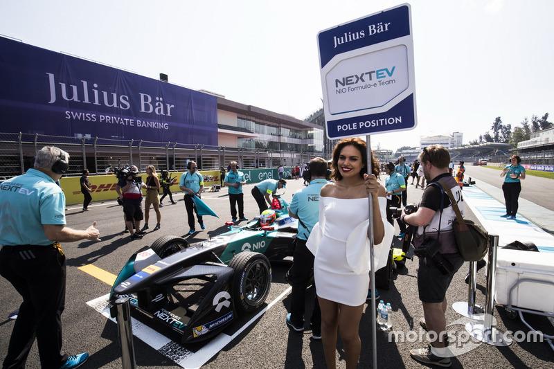 Julius Baer pole position girl