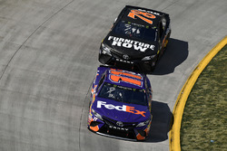 Martin Truex Jr., Furniture Row Racing, Toyota; Denny Hamlin, Joe Gibbs Racing, Toyota