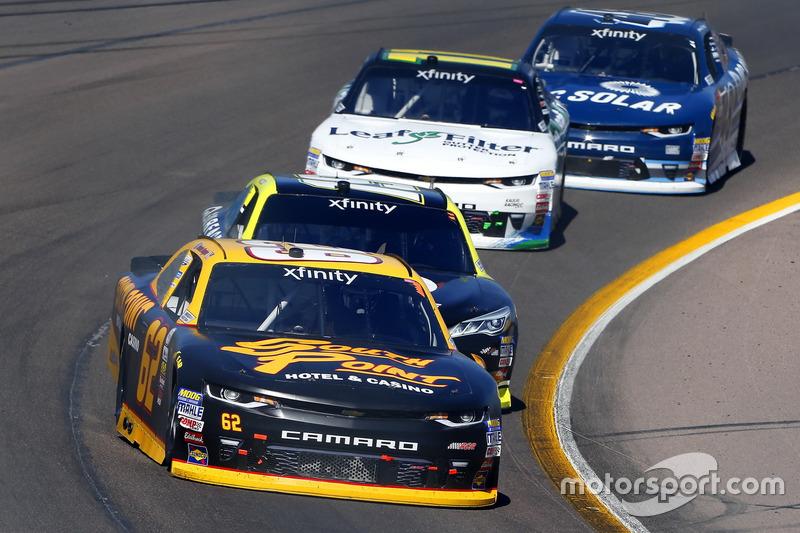 Brendan Gaughan, Richard Childress Racing, Chevrolet; Matt Tifft, Joe Gibbs Racing, Toyota