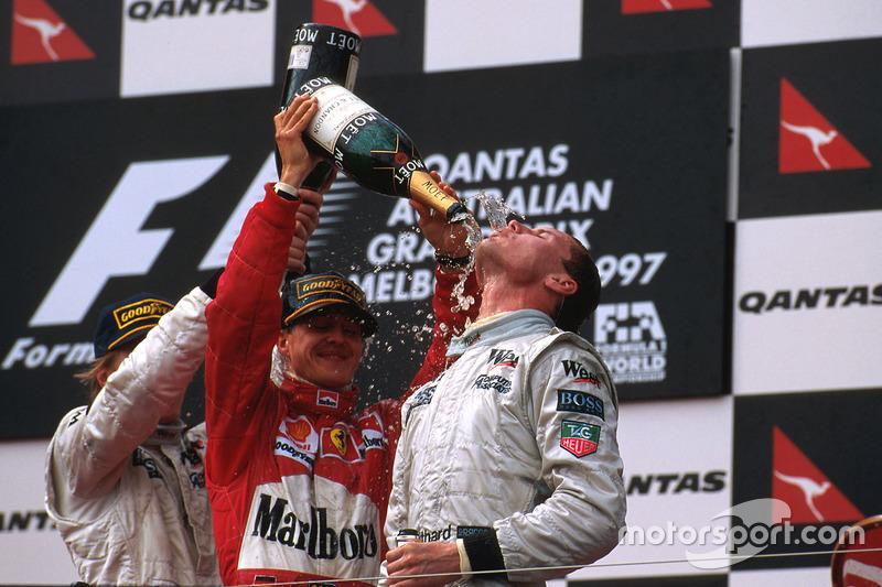 9. David Coulthard: 62 podios (25,10%)