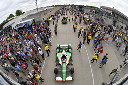 Spencer Pigot, Juncos Racing Chevrolet Gasoline Alley