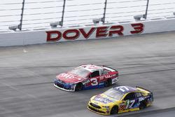 Ricky Stenhouse Jr., Roush Fenway Racing, Ford; Austin Dillon, Richard Childress Racing, Chevrolet