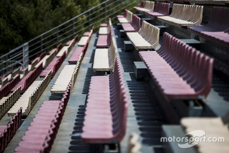 Grandstand seats