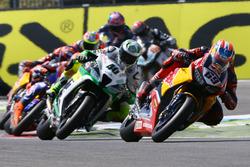 Nicky Hayden, Honda World Superbike Team; Roman Ramos, Team Go Eleven