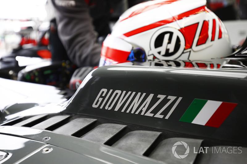 Антоніо Джовінацці, Haas F1 Team