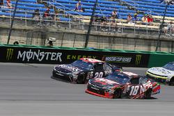 Kyle Busch, Joe Gibbs Racing Toyota ve Erik Jones, Joe Gibbs Racing Toyota