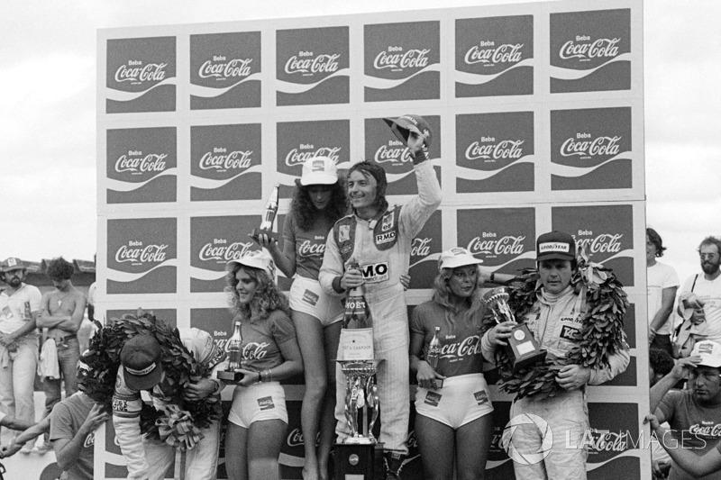Ganador del GP de Brasil 1980: René Arnoux, Renault