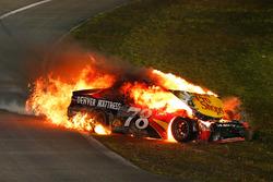 Мартін Труекс-мол., Furniture Row Racing Toyota, аварія