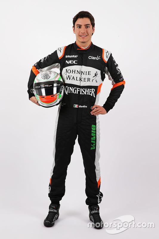 Alfonso Celis Jr., Testfahrer, Sahara Force India F1 Team
