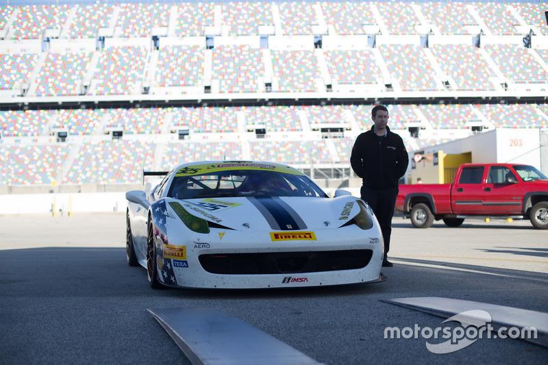 Matt Keegan, Ferrari de San Francisco