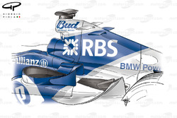 Williams FW27 2005 midwings