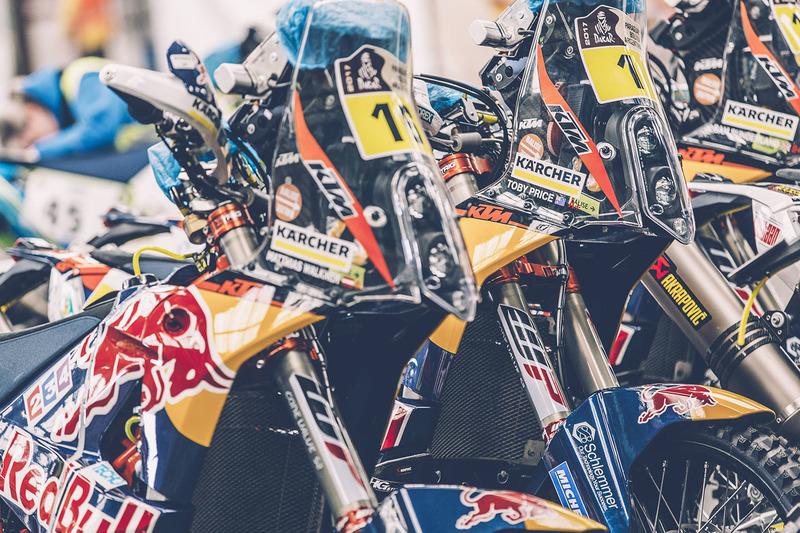 Red Bull KTM Factory Racing listo para el largo viaje a Buenos Aires