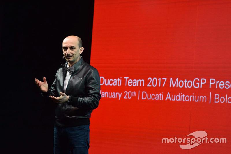 Claudio Domenicali, Ducati-Geschäftsführer