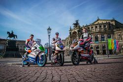 Jakub Kornfeil, Peugeot MC Saxoprint; Patrik Pulkkinen, Peugeot MC Saxoprint; Freddie Heinrich, Peugeot MC Saxoprint