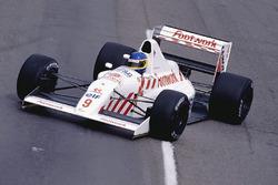 Michele Alboreto, Arrows A11B Ford