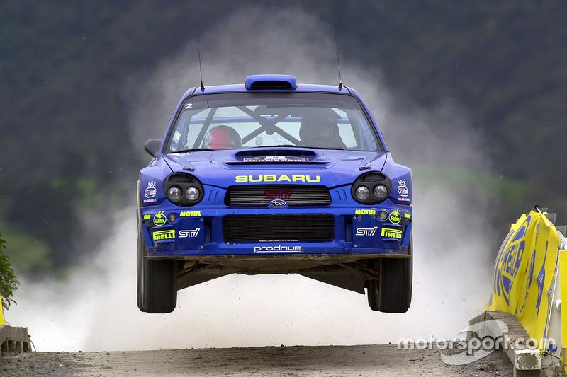 Річард Бернс, Роберт Рейд, Reid, Subaru Impreza WRC