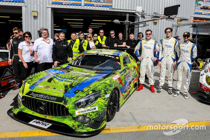 Foto de equipo #16 SPS automotive performance Mercedes AMG GT3: Valentin Pierburg, Tim Müller, Lance