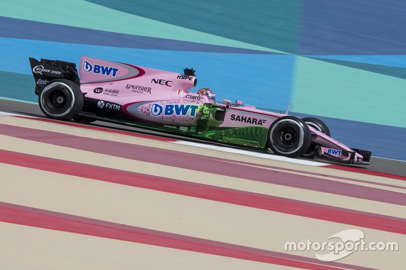Исследования аэродинамики Force India VJM10