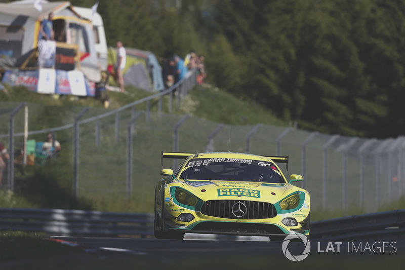 15. #48 Mann-Filter Team HTP Motorsport, Mercedes-AMG GT3