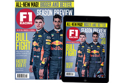 April 2017 cover of F1 Racing