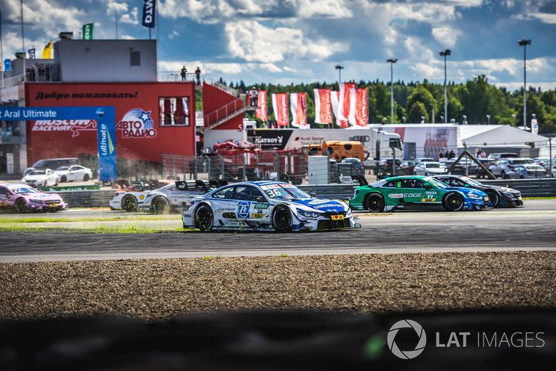 Arrancada Maxime Martin, BMW Team RBM, BMW M4 DTM