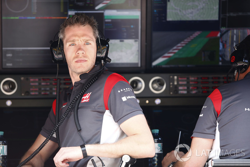 Інженер Haas F1 Team