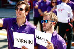 Sam Bird, DS Virgin Racing, Alex Lynn, DS Virgin Racing