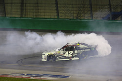 Race winner Tyler Reddick, Chip Ganassi Racing Chevrolet