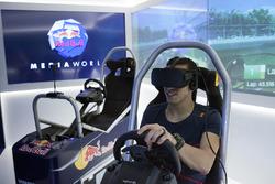 Sébastien Buemi, action VR Experience