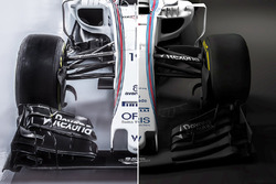 Vergleich: Williams FW38 und Williams FW40
