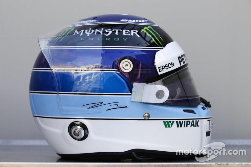 Valtteri Bottas, Mercedes-AMG F1 különleges sisakja a Monacói GP-re