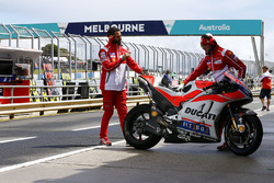 La moto d'Andrea Dovizioso, Ducati Team