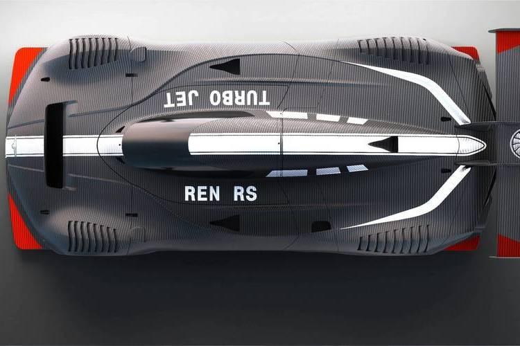 Autó 1305 lóerős fenevad egy üléssel: Techrules Ren RS