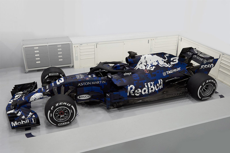 2018: Red-Bull-TAG-Heuer RB14