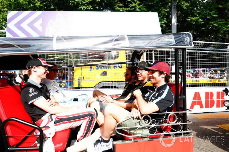 Stephane Sarrazin, MS + AD Andretti Formula E, Maro Engel, Venturi Formula E Team, Nicolas Prost, Re