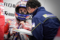 Andrea Dovizioso, Ducati Team, Michelin engineer