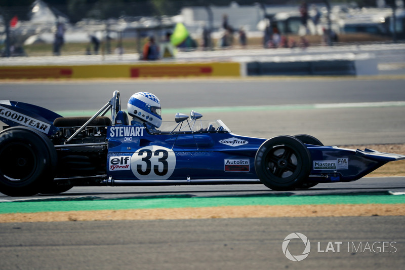 Tyrrell 005 at Silverstone 70th Anniversary Parade