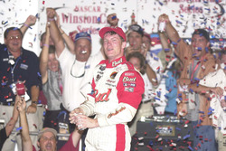 Race winner Dale Earnhardt Jr.