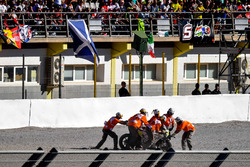 Аварія Альваро Баутіста, Aspar Racing Team